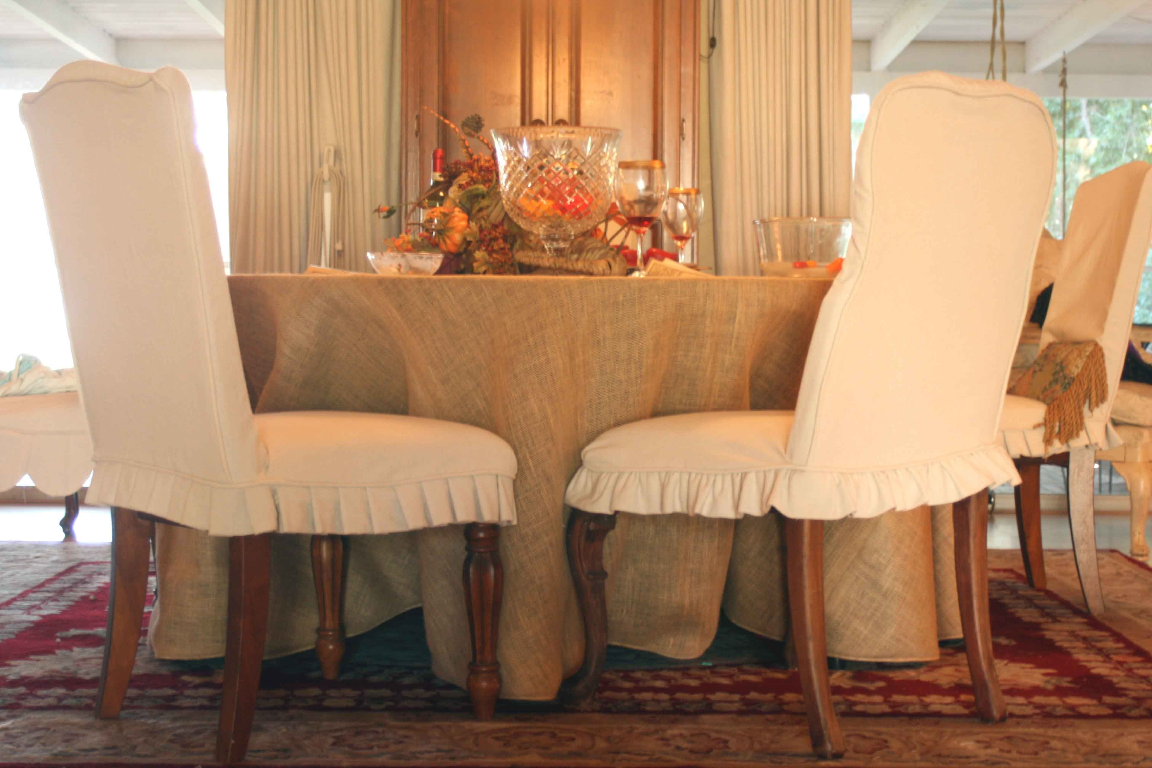 Queen Anne Dining Chair Covers