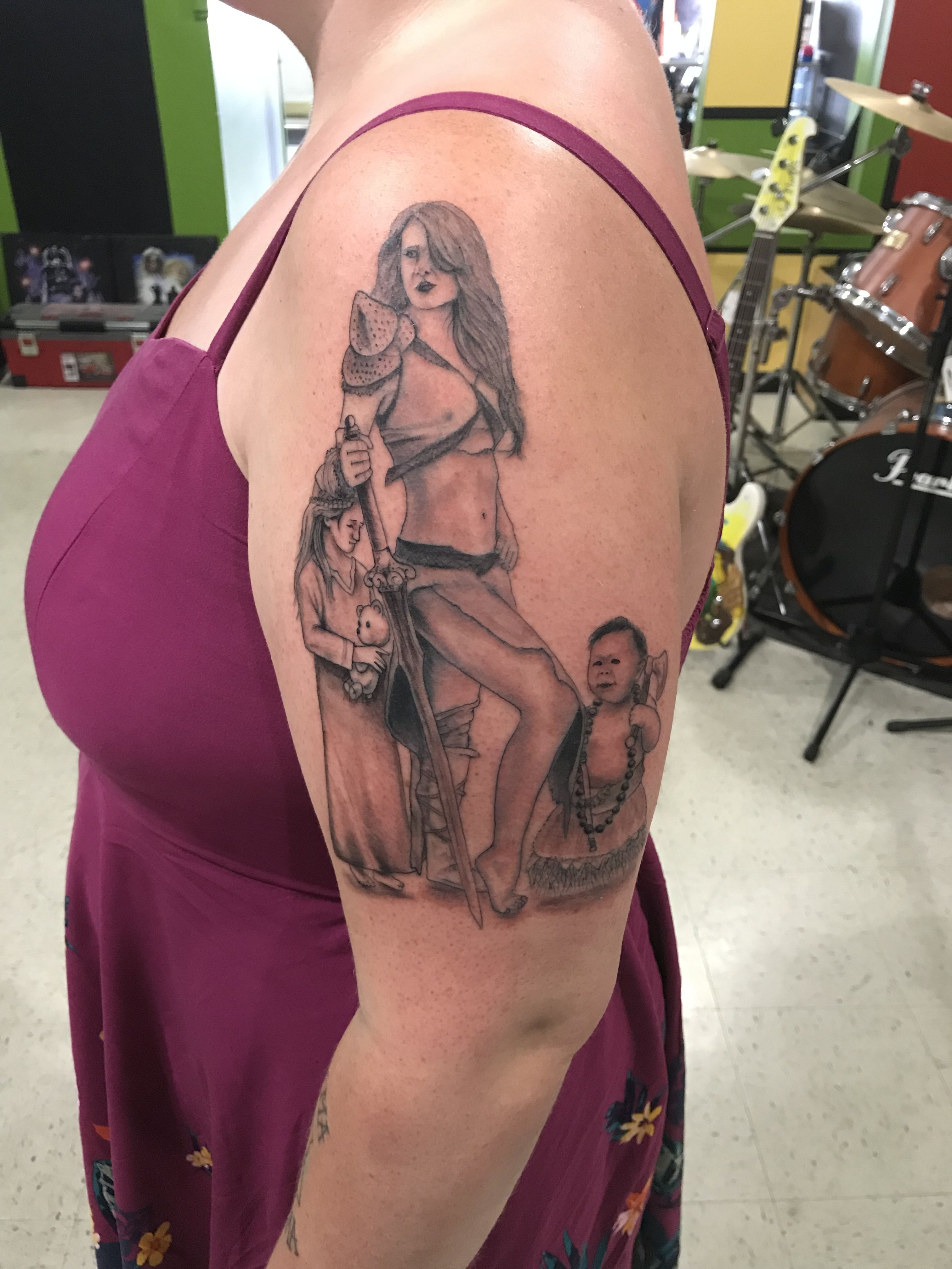 e2de9a90e Viking warrior mother tattoo | Cool Tats | Mother tattoos, Tattoos ...