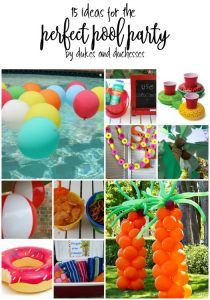 15 ideas for the perfect pool party