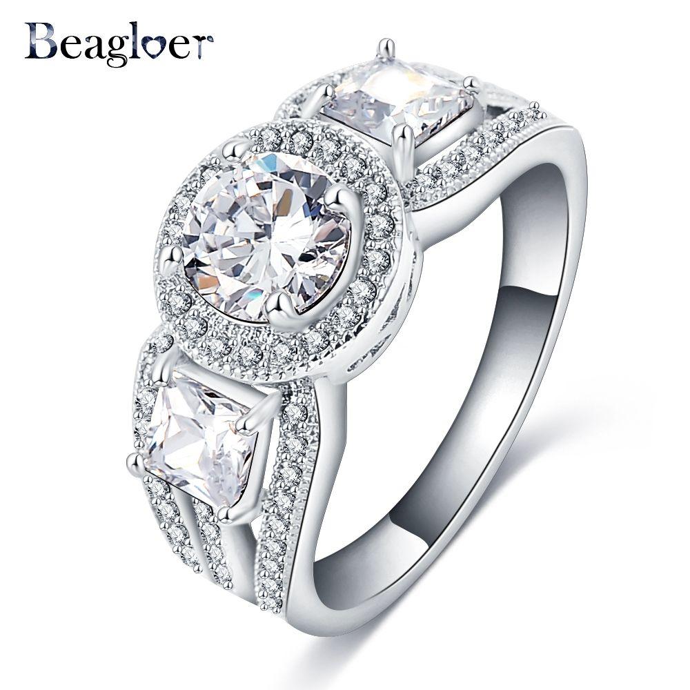 Ring Beagloer Brand 2016 New Style Engagement