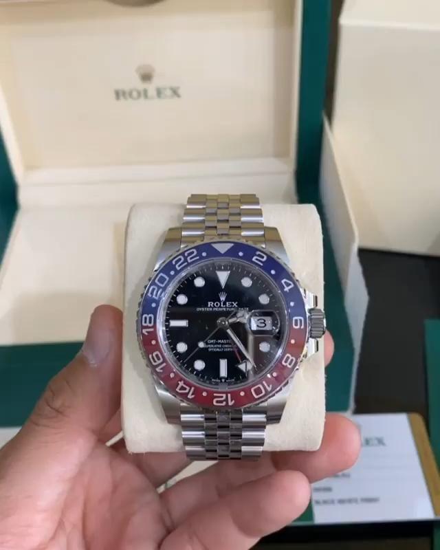 Rolex GMT-MASTER II PEPSI $189.00
