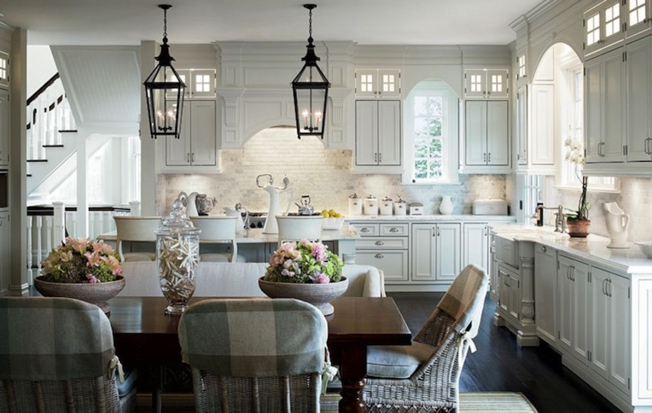 french farmhouse style kitchens design white