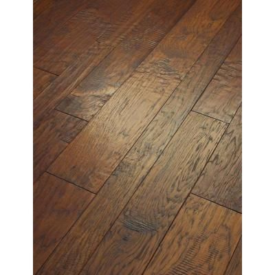 Shaw drury lane caramel 3 8 in thick x varying width and for Shaw hardwood flooring