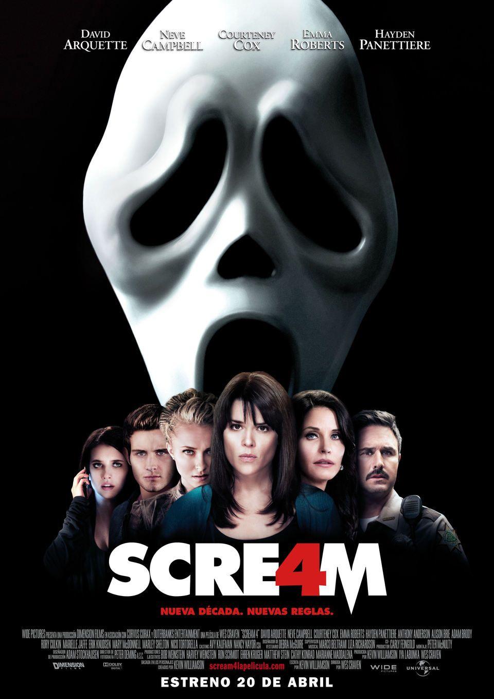 scream movie poster framed