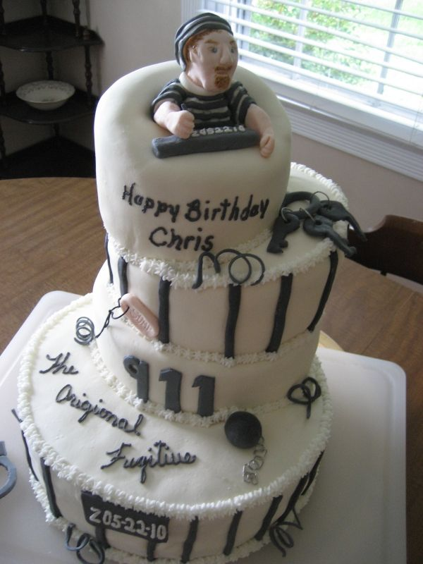 Jail House Cake Cake Ideas House Cake Cake Birthday Cake