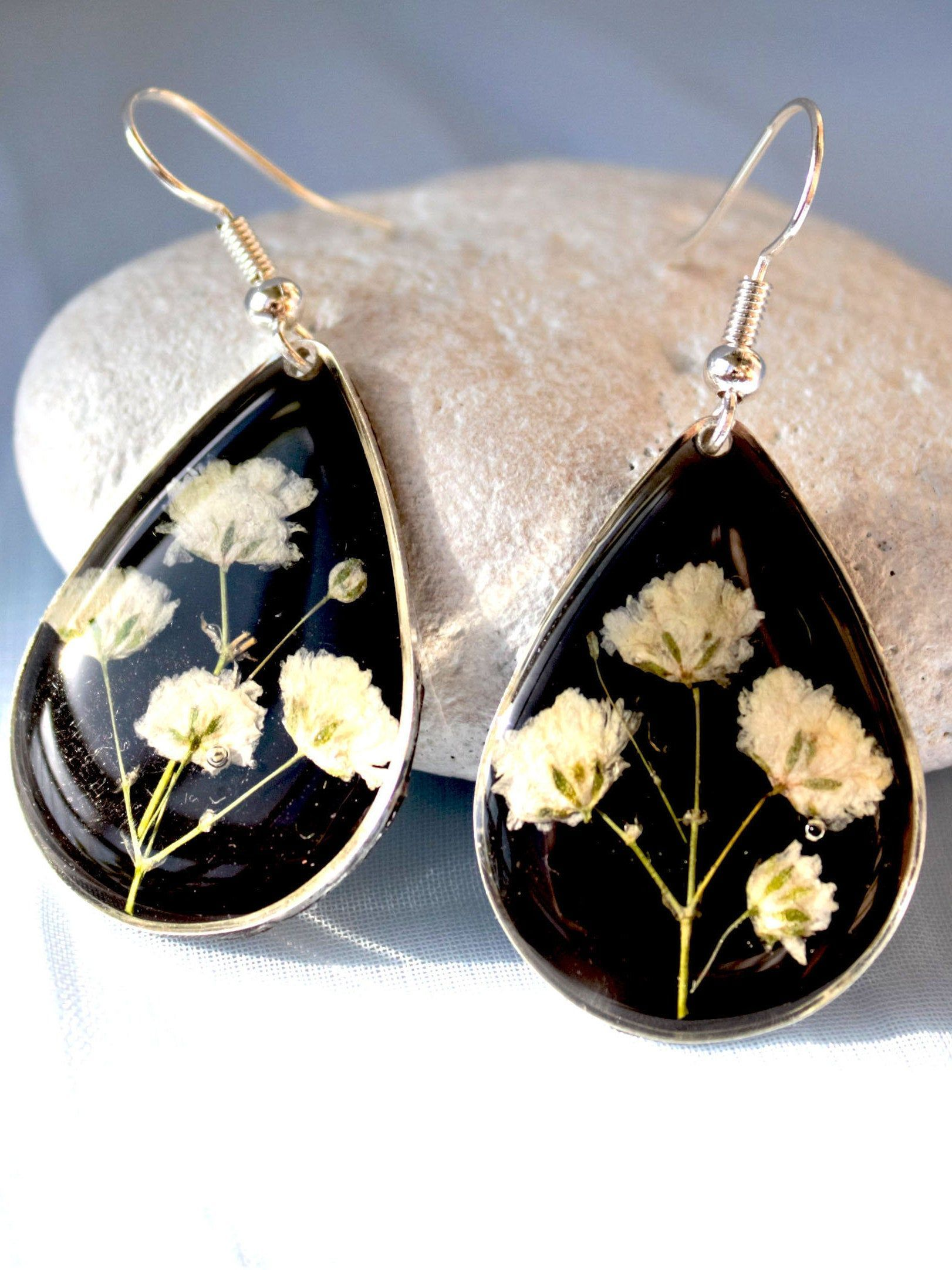 Pressed Fern Earrings Minimalist Jewelry Bridesmaid Gift Small Stud Earrings MINI Fern Stud Earrings Gifts for Her