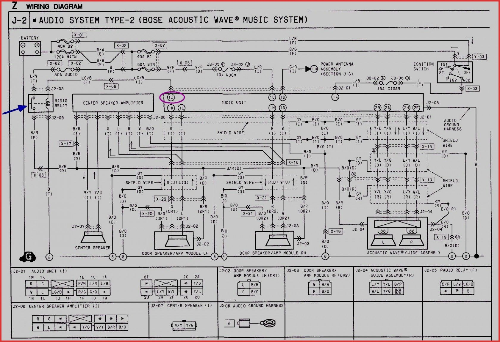 New Wiring Diagram Bose Amp