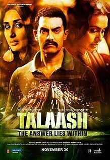 Talaash - a rewatch (Netflix) #filmmüzikkitaplar Talaash - a rewatch (Netflix) #filmmüzikkitaplar