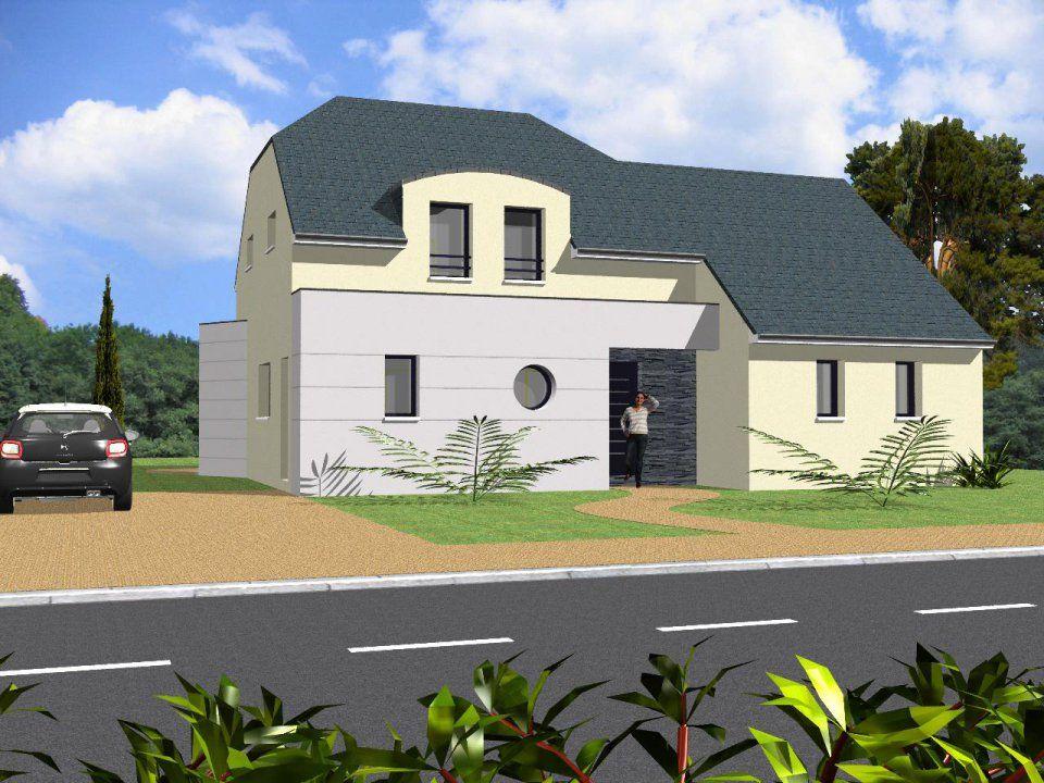 plan achat maison neuve construire marc junior 11 ca 5 154 plan maison pinterest. Black Bedroom Furniture Sets. Home Design Ideas