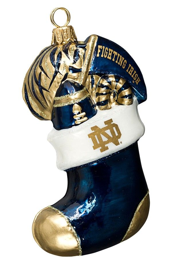 Gorgeous Notre Dame Stocking - Ornament Reviews | Notre Dame - Go ...