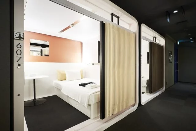 9 Capsule Hotels In Tokyo Under 70 Night For Solo Travellers On A