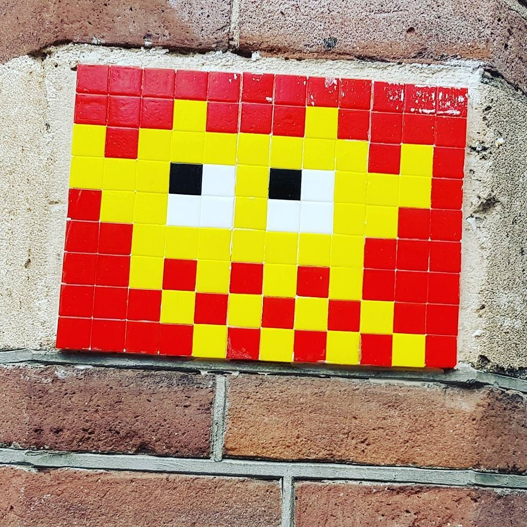 Space invader spotted in #Amsterdam Come and join our Gallery at ...