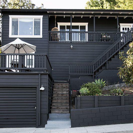 Paint It Black Black House Exterior House Exterior Black House