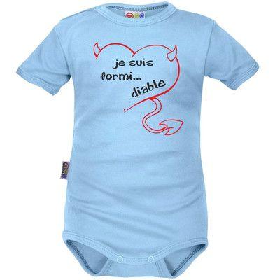 b9a8593418e48 Body bébé rigolo   je suis FORMI... DIABLE (9 coloris)