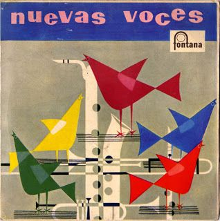 Nuevas Voces Lp Cover Album Cover Art Album Cover Design Music Album Covers