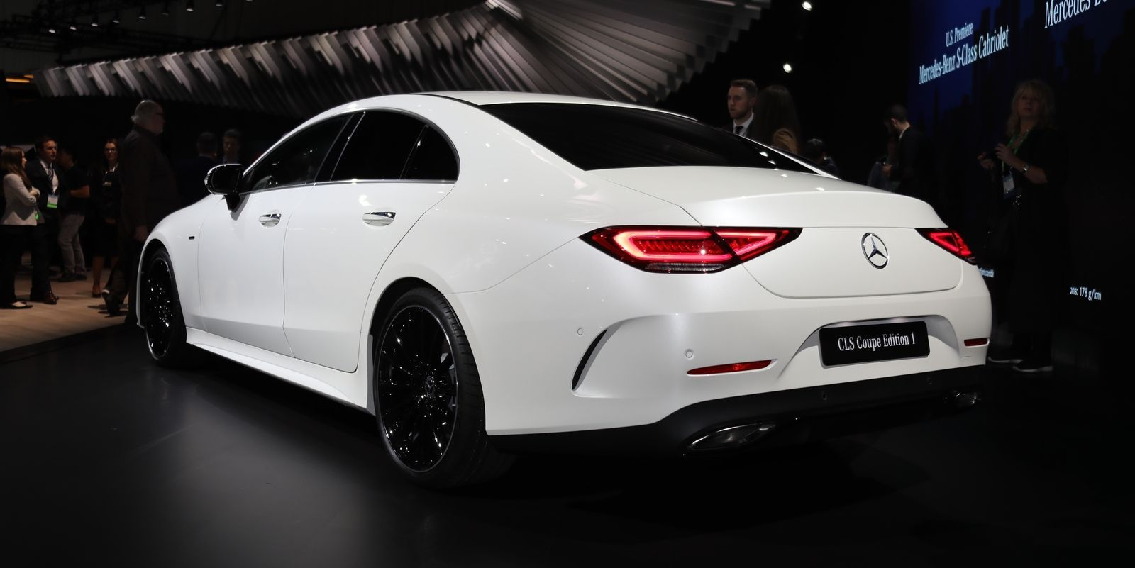 2019 Mercedes Benz Cls Four Doors Under A Fastback With Images