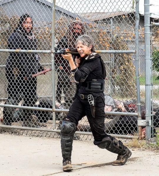 Carol, Ezekiel and Jerry in The Walking Dead Season 8 Episode 4 | Some Guy