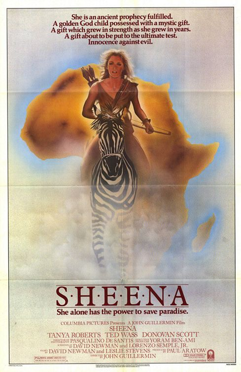 Sheena Sheena A Rainha Da Selva In Brasil Noites De Cinema