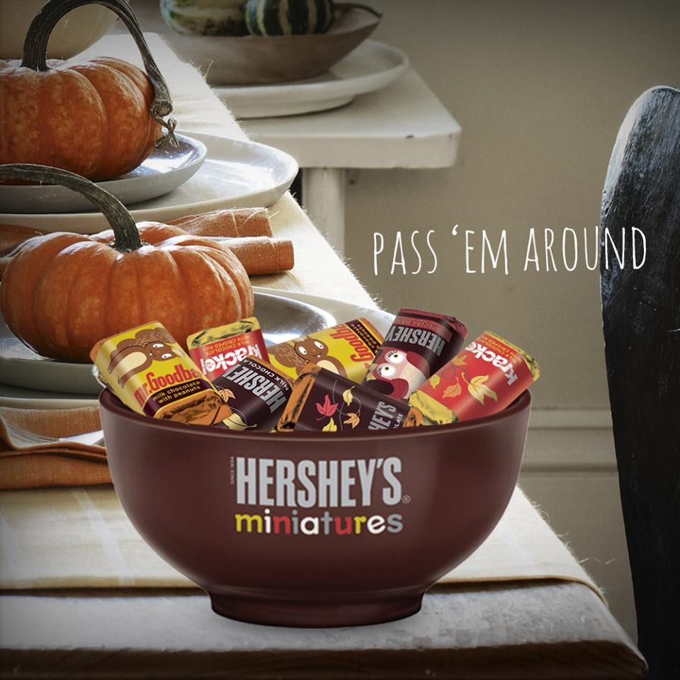 Hershey Minatures fall theme