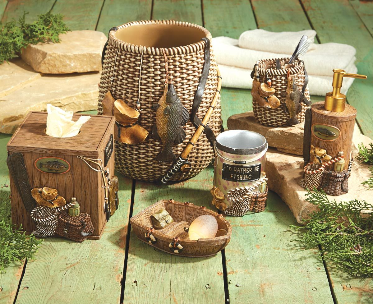 Rustic Accessories Fishing Themed Home Decor Trend Design