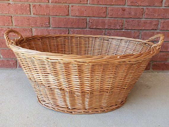Large Laundry Basket Wicker