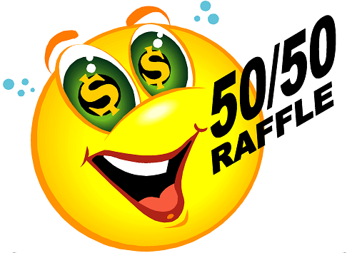 do teams make money from the 50 50 raffle