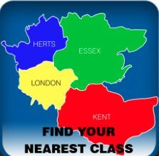 Find your nearest class - we've got them all over the place!