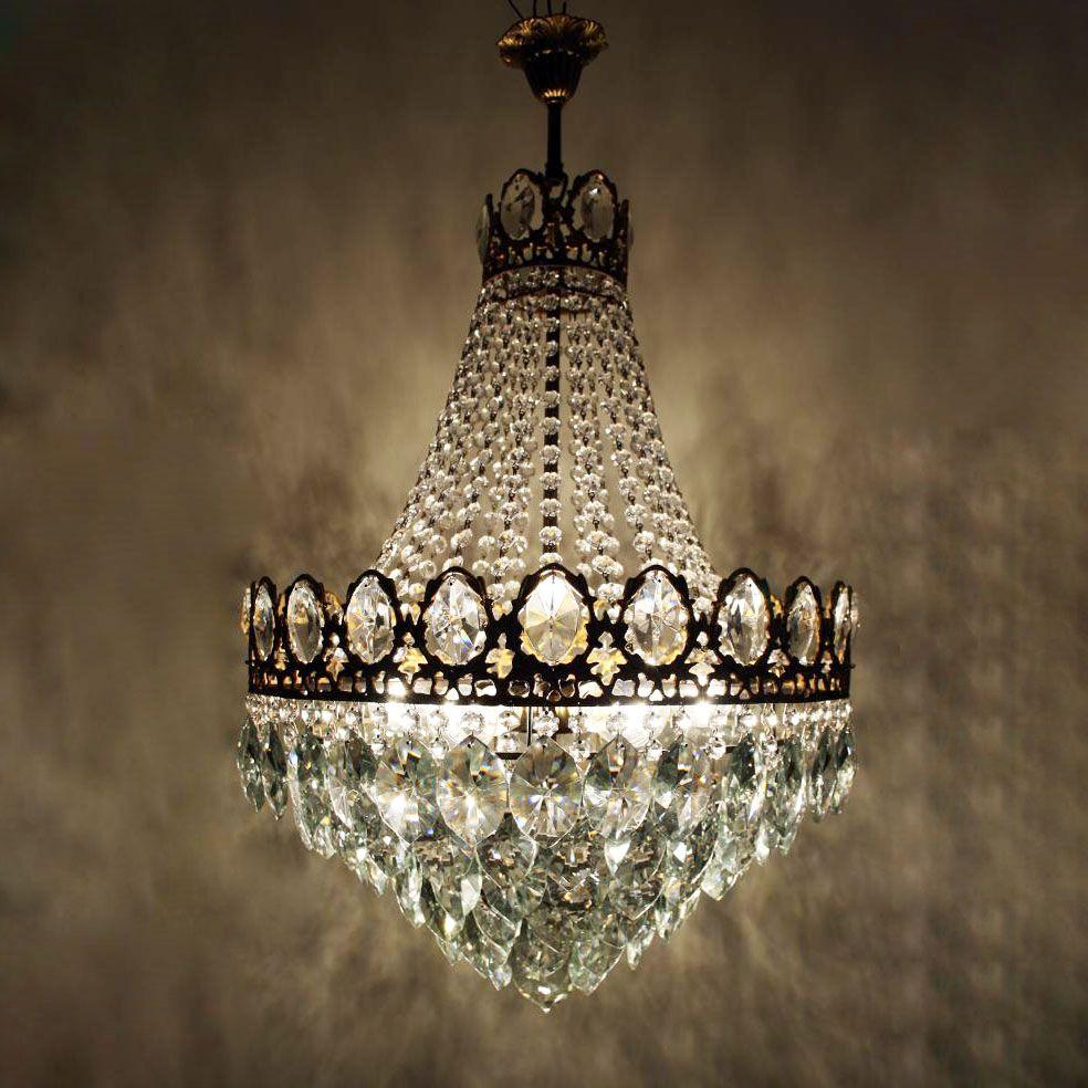 cesar gold light delux antik alte kronleuchter luster - Kronleuchter
