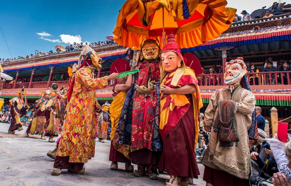 7 Highly Revered Buddhist Festivals Celebrated In India