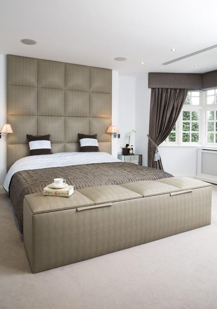 Ottoman 154w X50h X 45d Hotel Bedroom Design Luxury