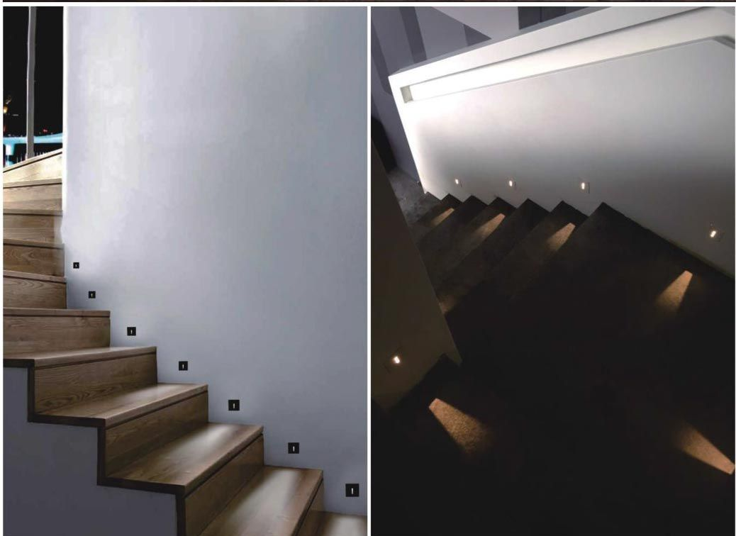 Card Square Staircase Wall Lighting Lighting Design Interior