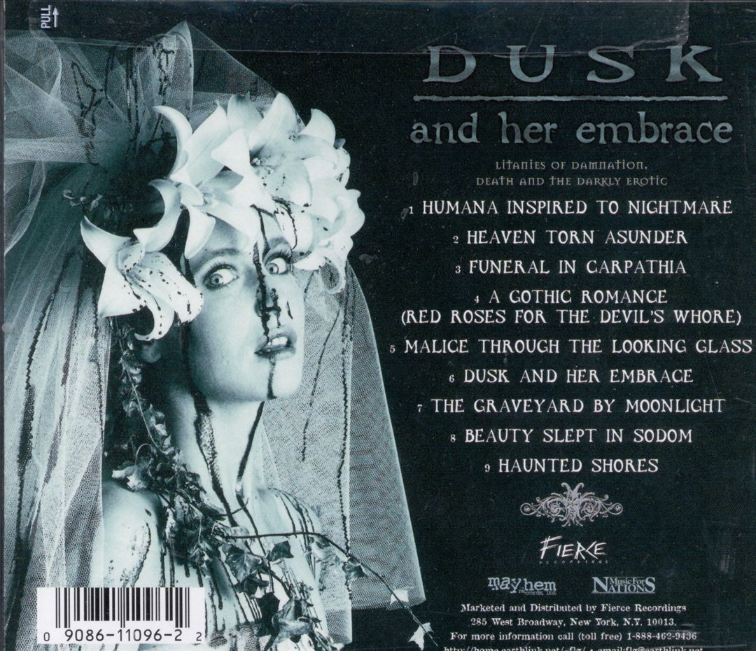 Dusk and Her Embrace - Cradle of Filth | Songs, Reviews