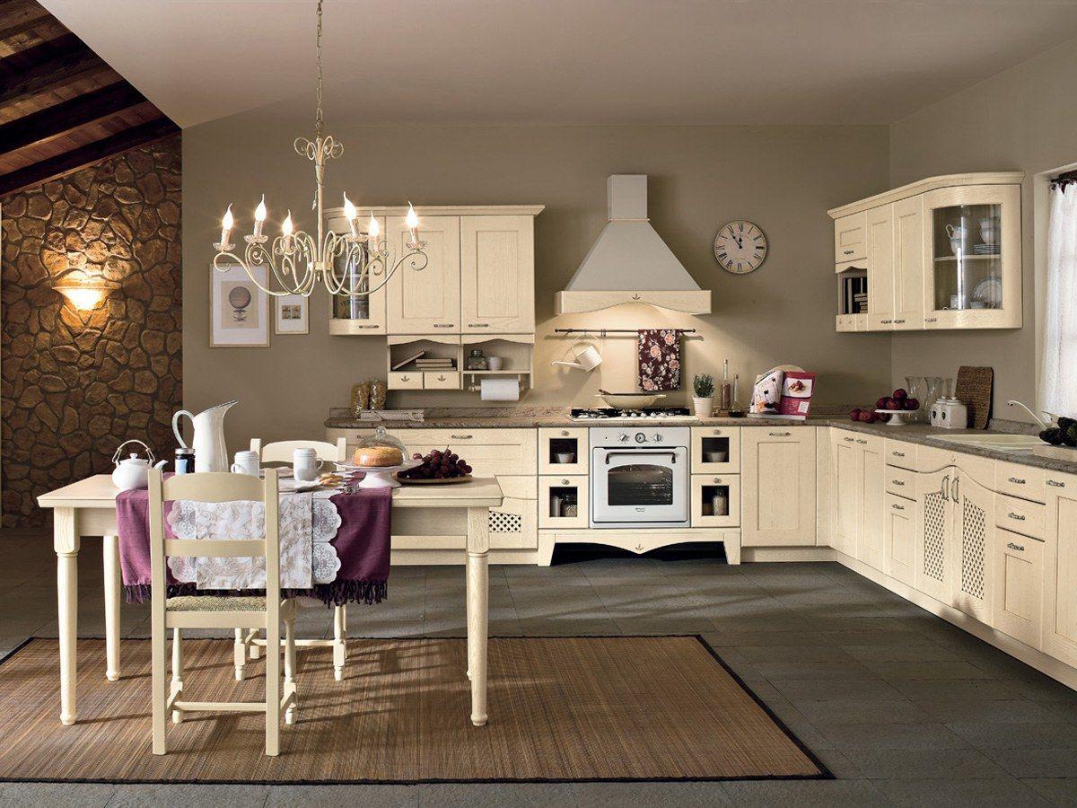 Classic Cherry Kitchen - Ducale | Arrital Cucine | Kitchen ...