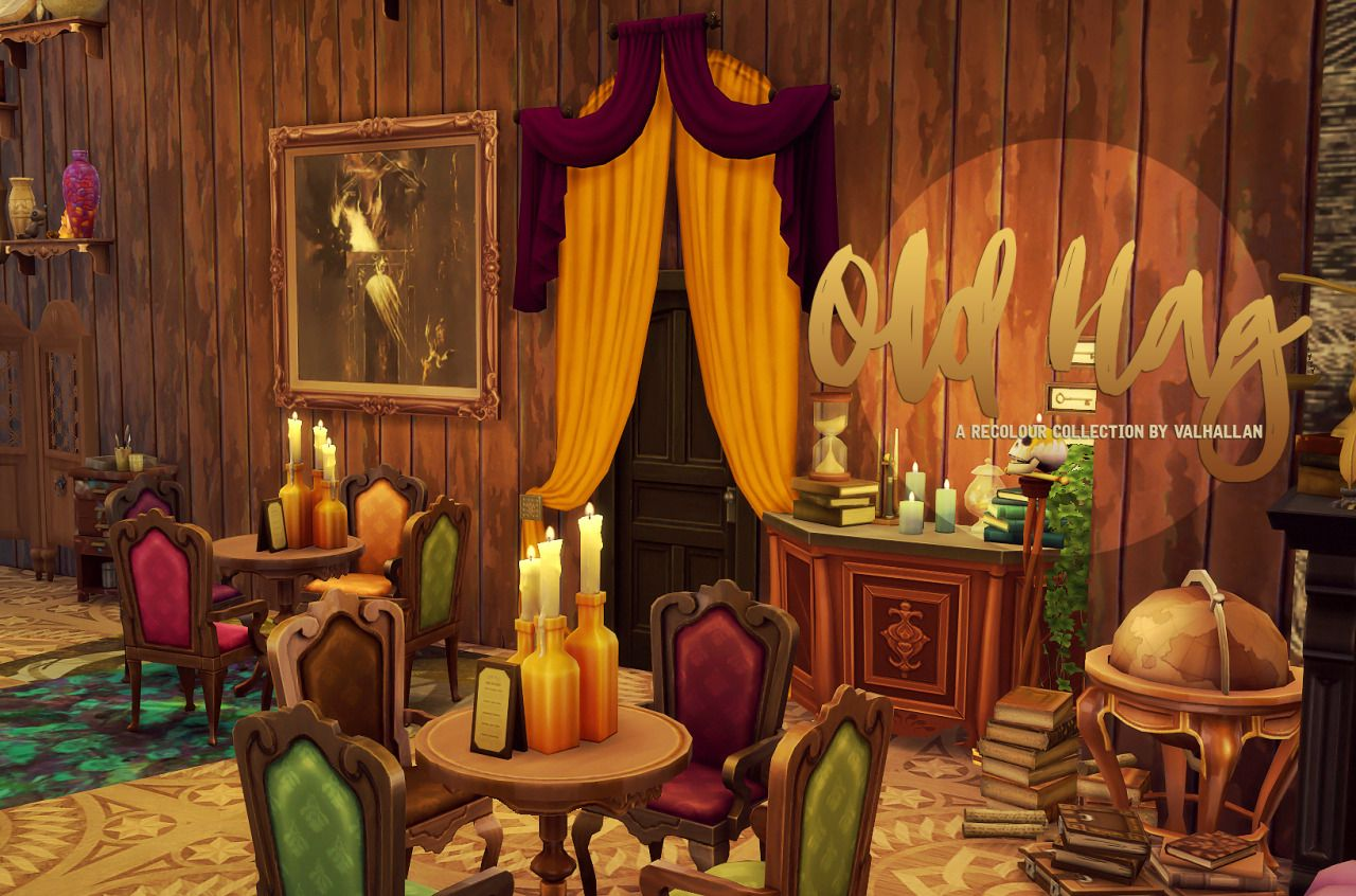 Old Hag The Recolour Collection City Living Couches And Base Game Curtains Recoloured By Valhallan O Compatible Standalone Zip With 6