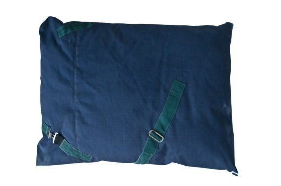 Horse blanket dog bed