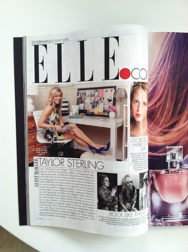 Elle USA // Taylor Sterling for Glitter Guide // makeup by Priscilla Francine // photography by Bess Friday