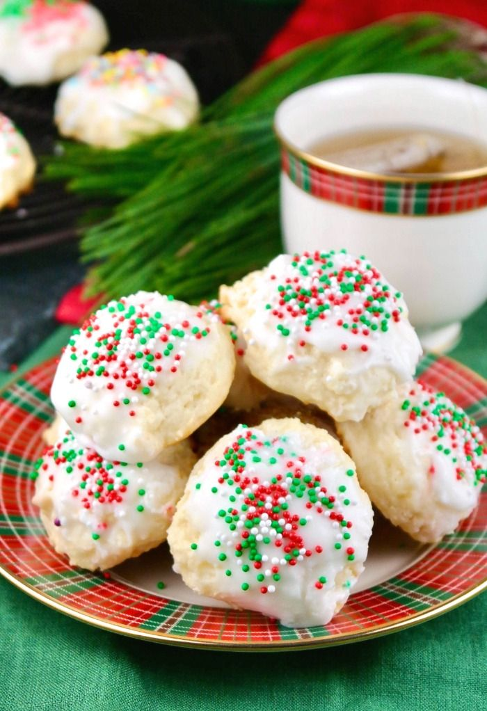 Holiday Ricotta Cheese Cookies The Foodie Affair