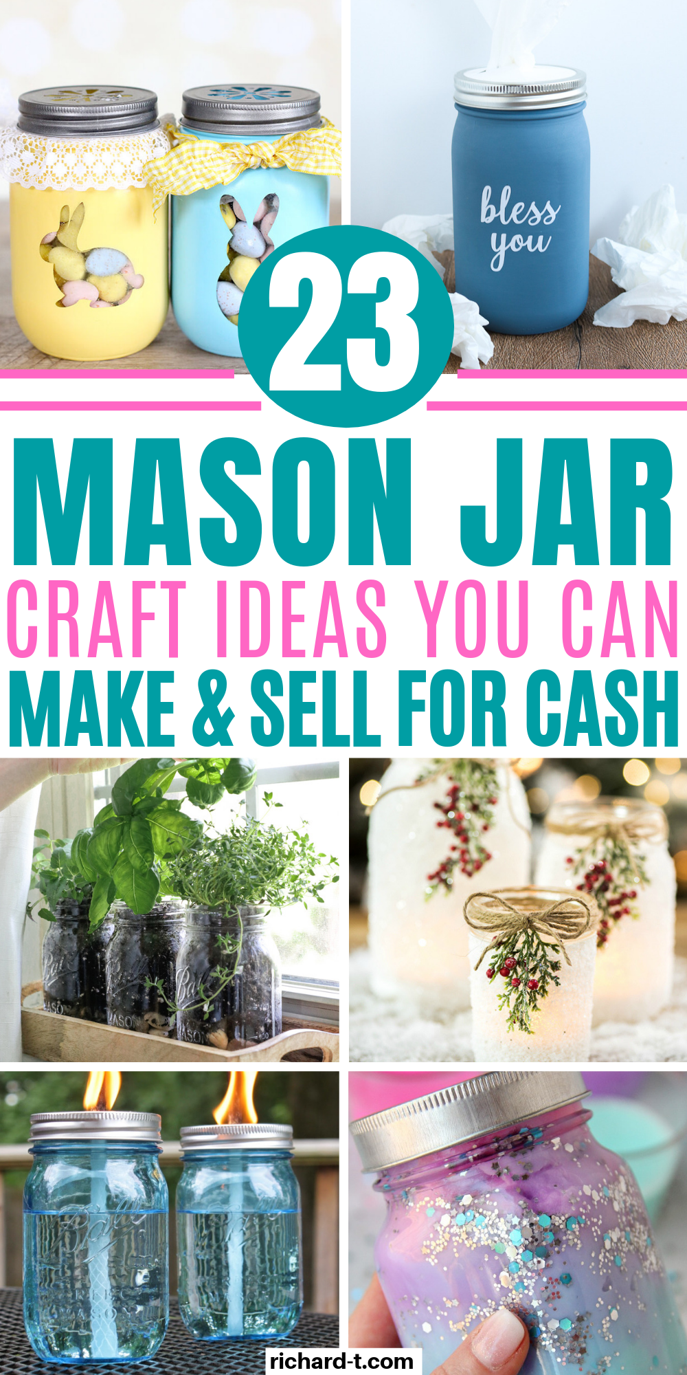 Photo of 23 Easy DIY Mason Jar Crafts That Look Spectacular