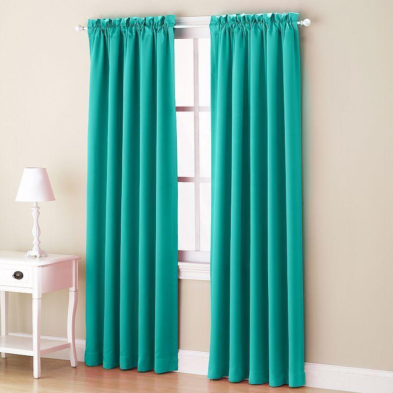 Sun Zero Kylee Energy Efficient Rod Pocket Curtain Panel Panel