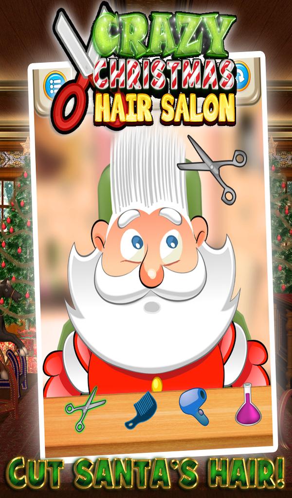 Crazy Christmas Hair Salon Christmas, Crazy, Salon,