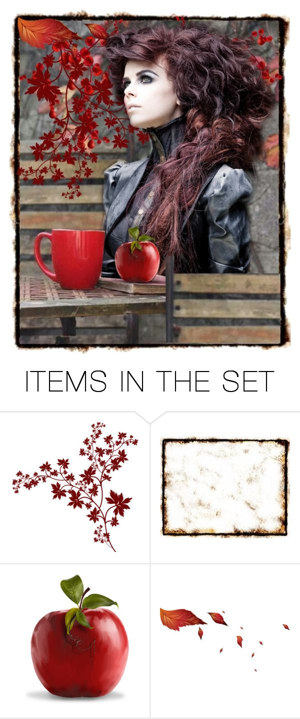 """*One red apple*"" by jojona-1 ❤ liked on Polyvore featuring art"