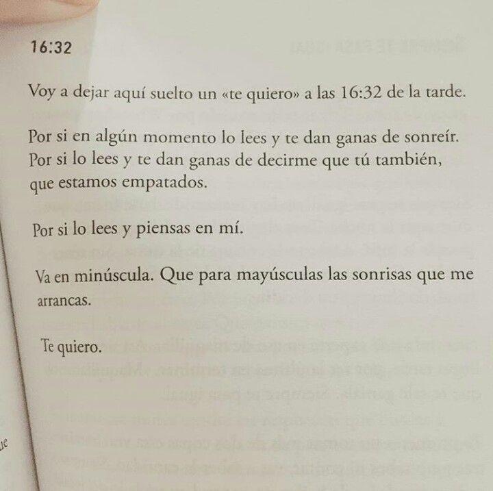 Te Quiero, Te Amo. 16:32