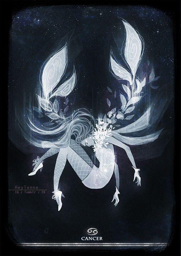 cancer horoscope art