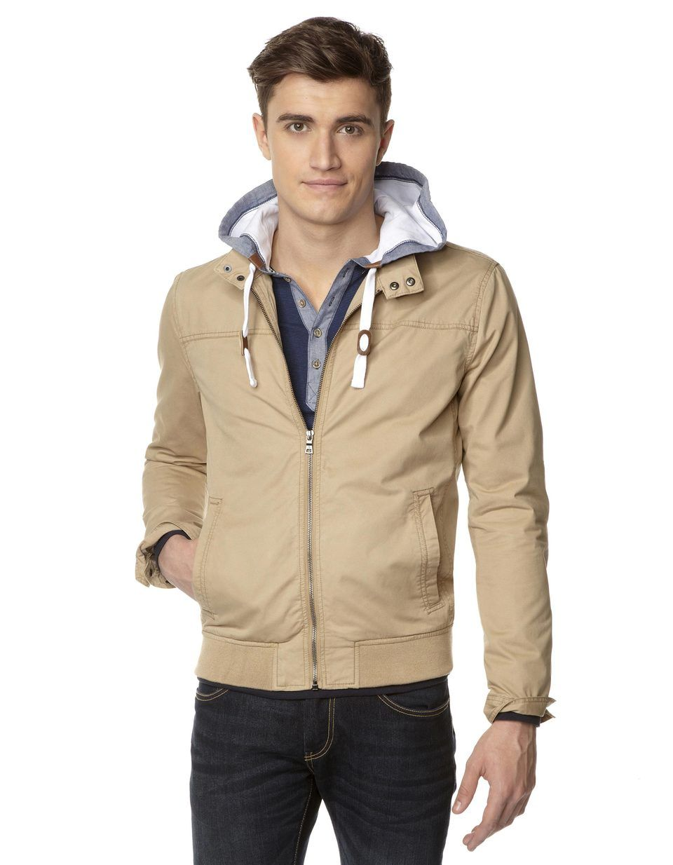 Blouson Harrington 100% coton - TUCOTTON - Celio France