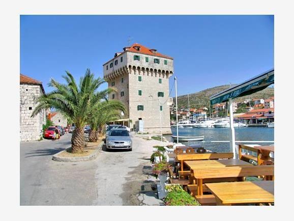 MarinaTrogirDalmatiaCroatia Kroatien, Reseguide, Platser