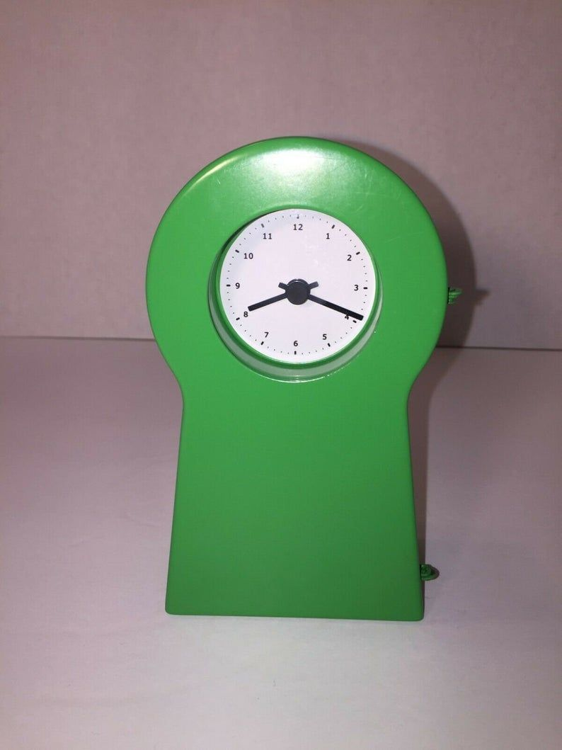 Vintage Ikea Ps 1995 Clock From Gratulera Collection Designed Etsy In 2020 Ikea Ps Clock Ikea