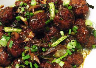 Bengali Recipe: Vegetable Manchurian Ball | Oxtail, Best ...