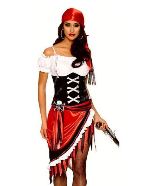 sexy Piratenkostüm