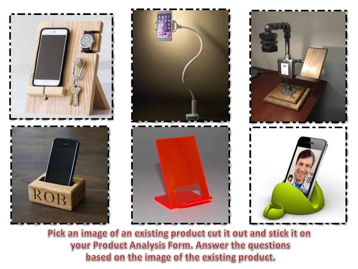 Design Technology Resources FREE Product Analysis (ACCESS