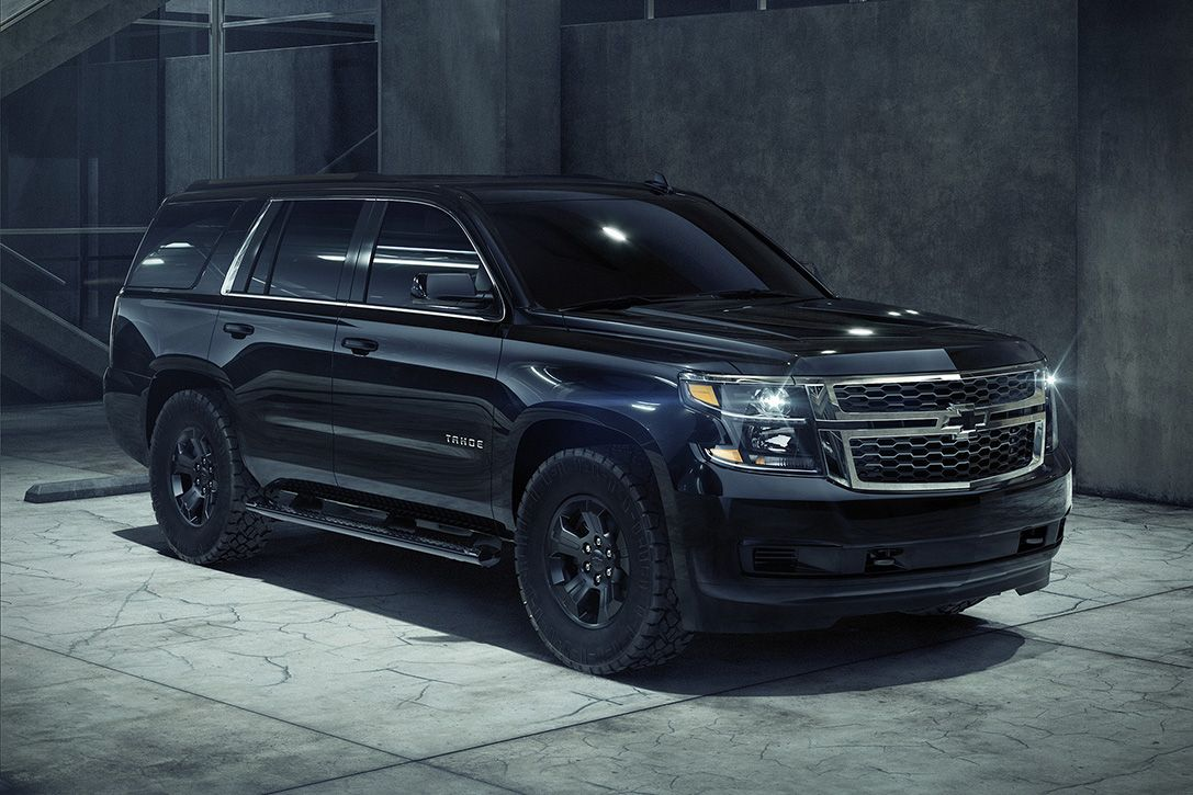 Chevy S Murdered Out The Tahoe Custom With The New Midnight